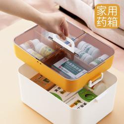 【破损包赔】旗舰店:青芝堂 药品收纳盒20.5*13*13.8cm