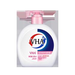 【拍1发3】旗舰店:VHA 洁净倍护洗手液500ml*3瓶